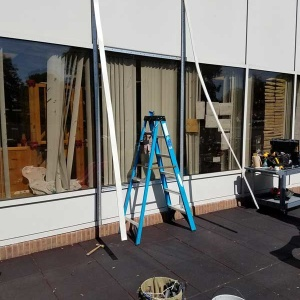 Glass Window Installation