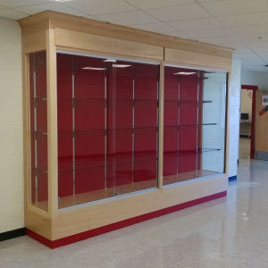Trophy Case Glass